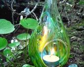 Fairy Lantern - Tea Light Votive in Fairy Garden Design - Whimsical votives to illuminate your home
