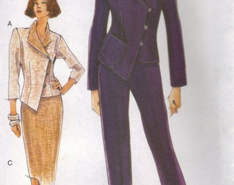 Vogue Sewing Pattern 9956 - Misses' Jacket, Skirt & Pants (8-12)