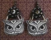 Owl Earrings - Owl Jewelry