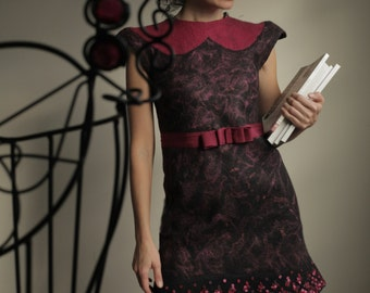 """The Template (digital files) for the """"Small, almost Black Dress"""" with instrustions"""