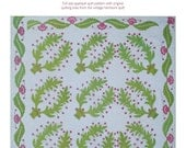 Ferns and Berries Quilt Pattern