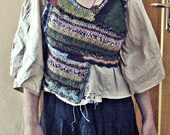 Reserved for K. Do not purchase.peasant  blouse,primitive blouse,gipsy woman blouse, by Zestria