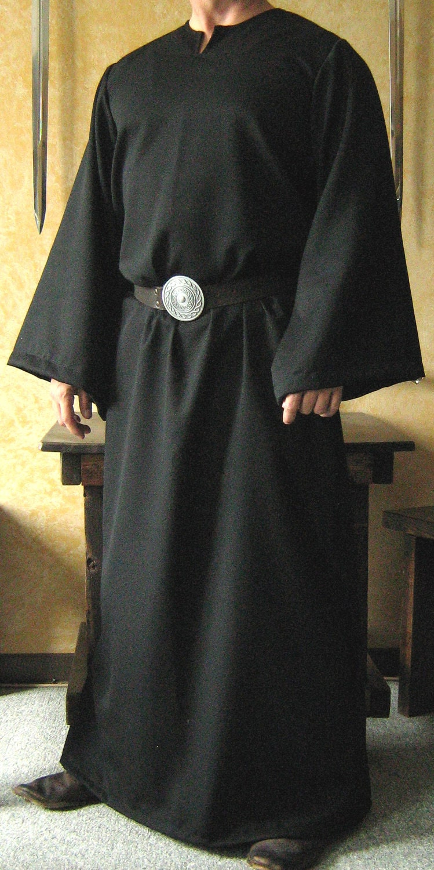 medieval celtic viking monk wizard robe