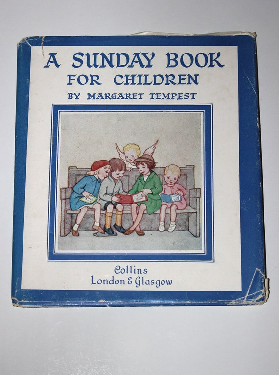 w/ dust cover - Margaret Tempest - collectable book for kids - church book