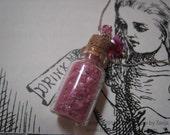 Stardust Wish in a Bottle Pendant FINAL Sale