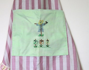Sweet Garden Inspired Apron