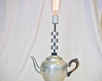 Steaming Teapot Lamp