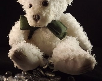 Scented Waxed Teddy Bears, 7.5 inch bear
