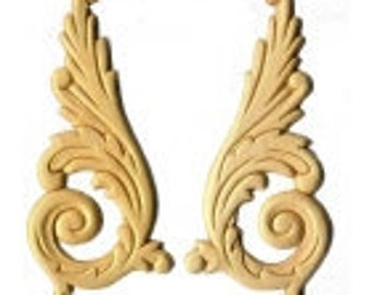 Birch Applique - Large Feathered Upsweeps