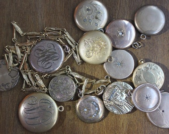 CUSTOM ORDERS Vintage Necklaces Bracelets Charms Lockets Pendants BRIDAL Custom Orders- Bridal Jewelry-Wedding Gifts-Ships Free in U.S.A.