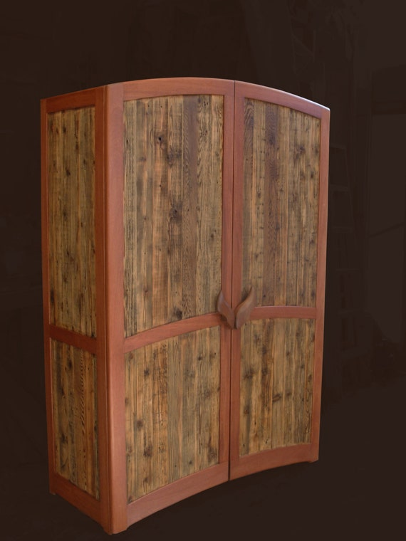 Armoire - Reclaimed Cedar and Mahogany