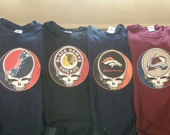 grateful dead syf (any pro team) t shirt