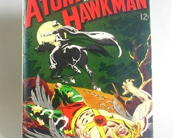 Vintage Comic Book, The Atom and Hawkman No. 43, The Titan and the Fury, July 1969, DC Comics