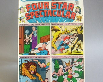 Vintage, Four Star Spectacular Comic Book, Vol. 1, Giant Issue 1, April 1976, DC Comics