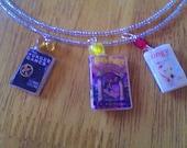 Custom Made Mini Book Necklace - You choose three