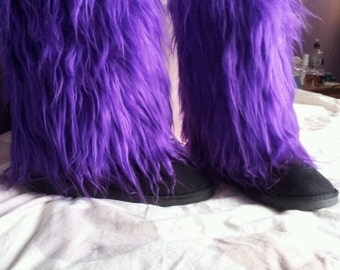Fluffy 'Ugg style' boots