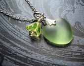 Granny Smith Love - Necklace