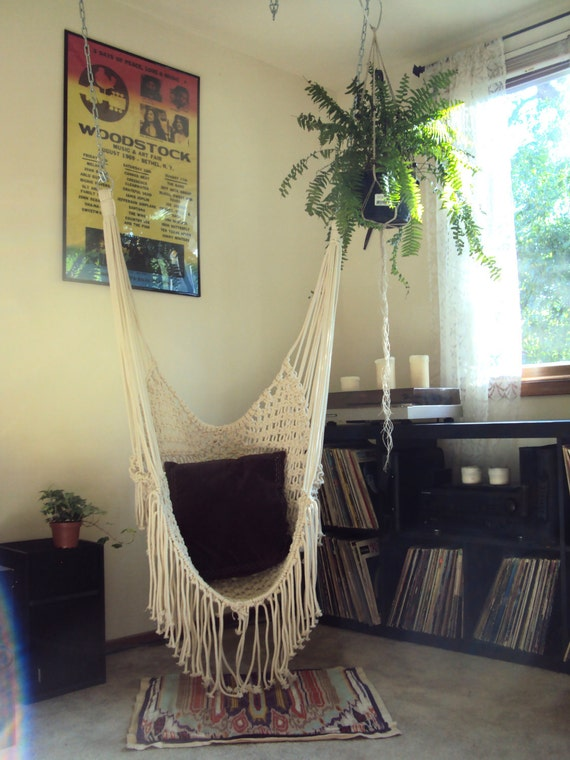 Unavailable listing on etsy - Make a macrame hanging chair ...