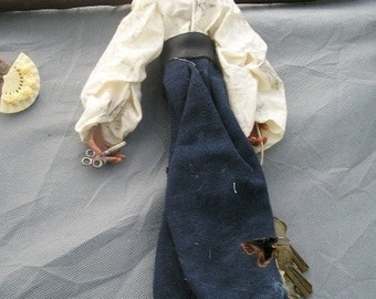 Emma - art doll spirit from the Triangle Shirtwaist Factory fire UNION STRoNG  ---  REACT, TrashionTeam, paganteam, OlympiaEtsy