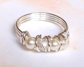 TUTORIAL Wire Eternity-Style Ring DIY Step-by-Step with Photos