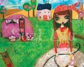 Suzi Blu My Gypsy Life Giclee Print