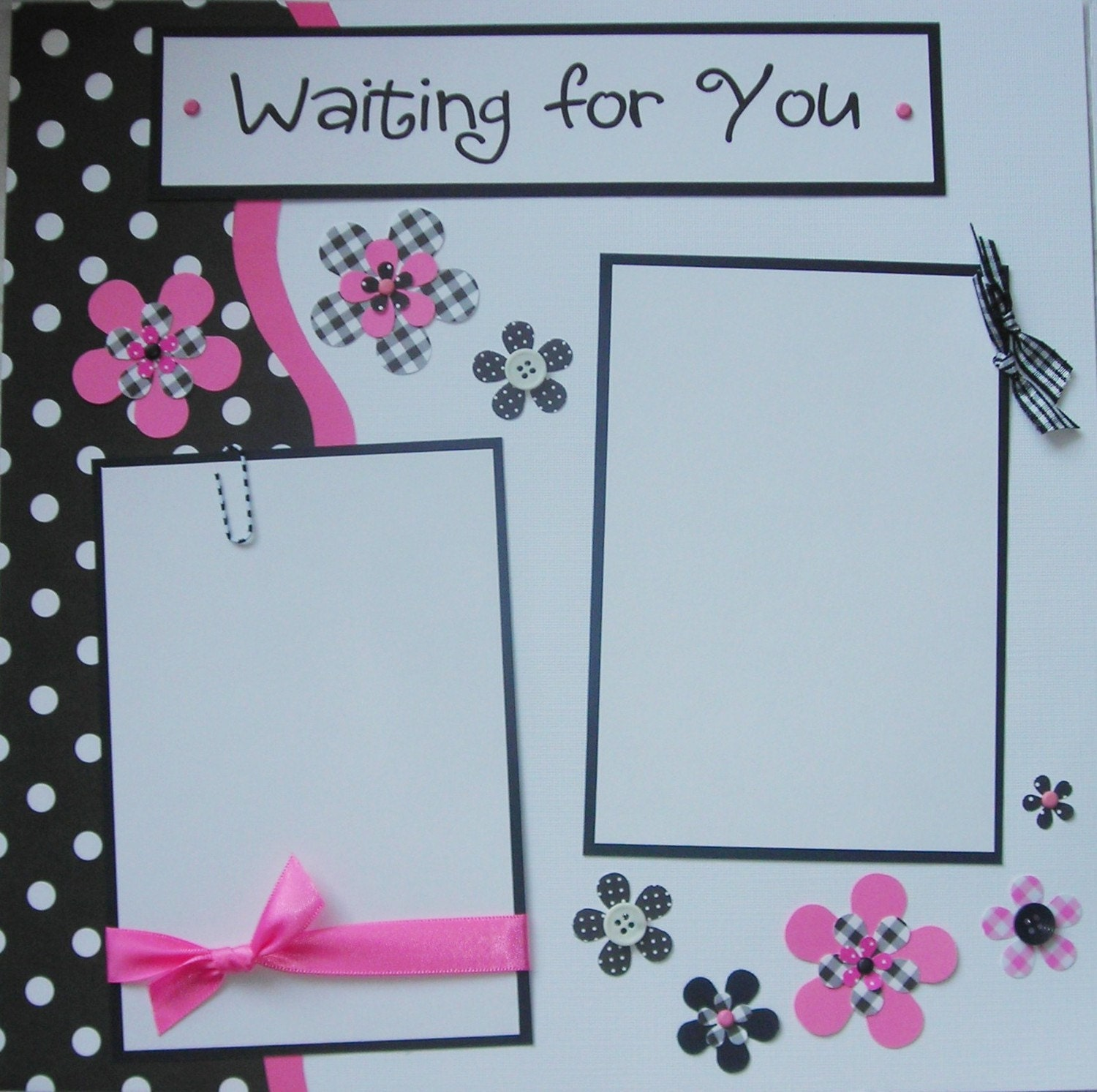 Baby girl scrapbook ideas -  Scrapbook Pages Pregnancy Expecting Baby Zoom
