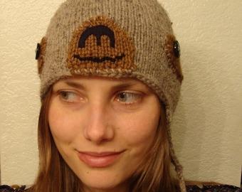 SLOTH hand knit hat --- bobcathats