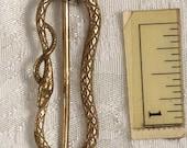 Snake Victorian Steampunk Bronze Medium Buckle Accessory