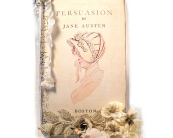 Persuasion Journal, Jane Austen Travel Journal, Regency Gifts for Her