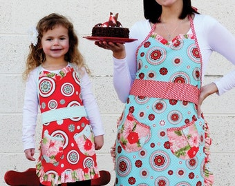 APRON PDF PATTERN - Mommy & Mia by Sew Much Ado