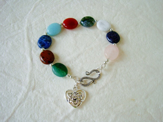 Fruit of the Spirit Bracelet with Semiprecious Stones