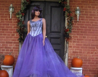 Tatiana Fairy Queen Gown Purple Fairy Costume