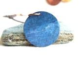 Blue Uranus Pendant Necklace Light Patina Planet Galaxy Science Solar System Fashion Jewellery