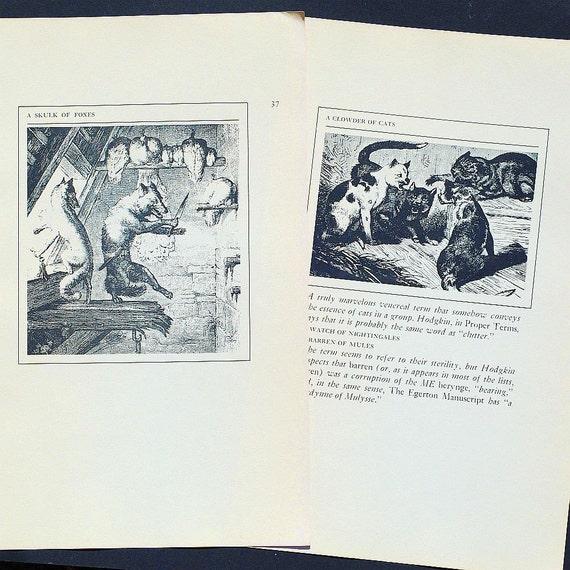 25 Vintage Animal Illustrations- vintage illustrations, black and white illustrations, animal pictures