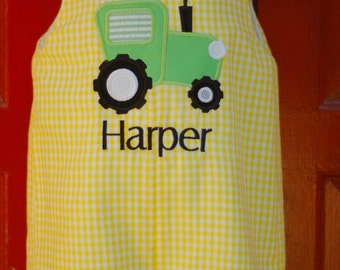 Boys Tractor Shortall or Longall Sizes 3mon-4T