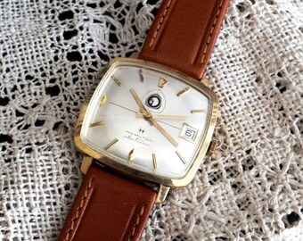 Vintage Hamilton Electric Wrist Watch by avintageobsession on etsy...20% Discount