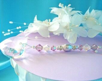 Ceiling Fan Pull Chain Purple Little Girls Room Nursery Decor Swarovski Crystal Light Pulls