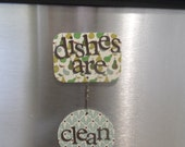 dishwasher magnet - pears