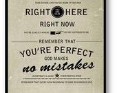 Welcome to Wherever You Are / Bon Jovi / Lyric / DIGITAL Typography Poster / Printable