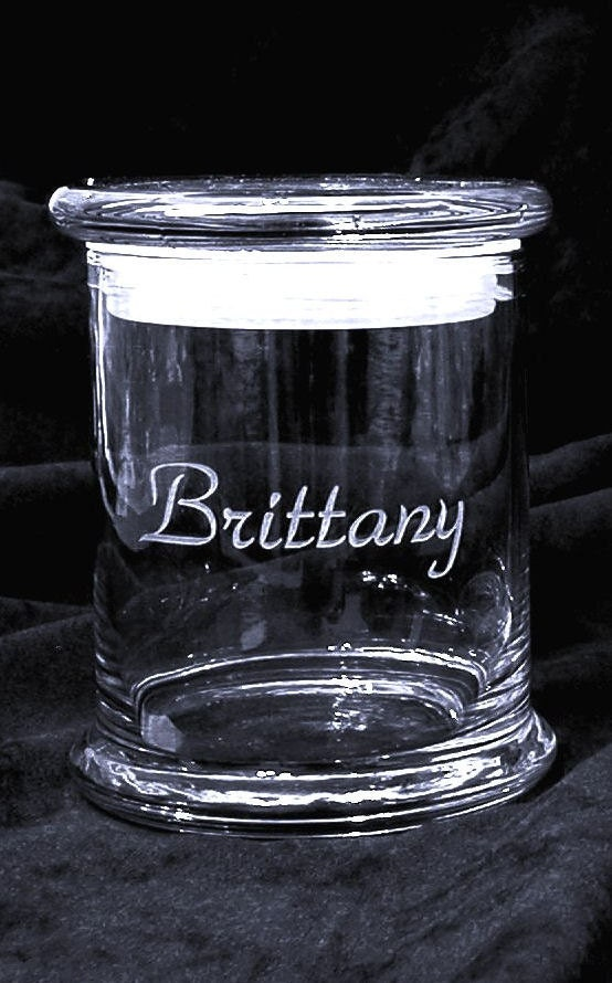 Personalized Unity Sand Ceremony Pouring Vase 3 By Glassmage