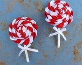 Christmas Peppermint Candies patternJOY Ribbon Flower Tutorial PDF - Holidays DIY christmas - ribbon tutorial - INSTANT Download