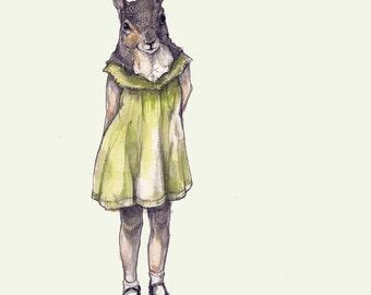 Little Squirrel (playful planner)- Squirrel Print