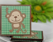 Marvelous Monkey - Mini Cards  Thank You cards Childrens Cards ( Set of 4)