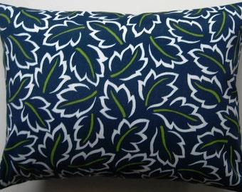 Indoor Outdoor Pillow Cover - Blue Pillow - Decorative Pillow -  Summer Pillow - 12 x 16 Inch