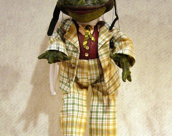 Made to Order - Mr. Toad Marionette, Wind in the Willows Character