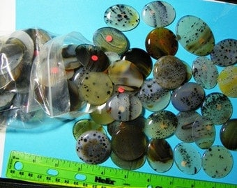 Montana Cabochon  Collection  89 Pieces (calabrated size)