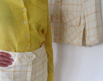 The 1970's Something by Oscar de La Renta Designer Woman's Suit