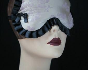 SALE - Satin Bella Adjustable sleep mask - Marielle -  Violet  by Love Me Sugar