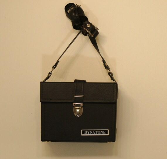 Vintage Dynatone black Boxy Camera case