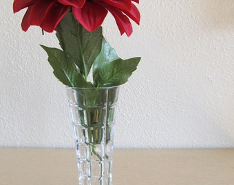 Vintage French Lead Crystal Vase
